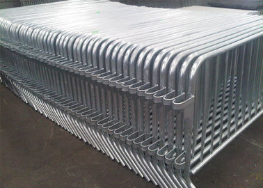 14 Bar  Crowd Control Barriers Hot Dipped Galvanized For Belgium Market High Quality ,Crowd Control Barricade