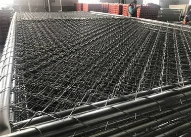 "Chain Link Fence Panels 1⅜""(35mm) 8'x12' Mesh 2⅜""x2⅜""(60mmx60mm) Hot Dipped Galvanized 366gram/SQM"