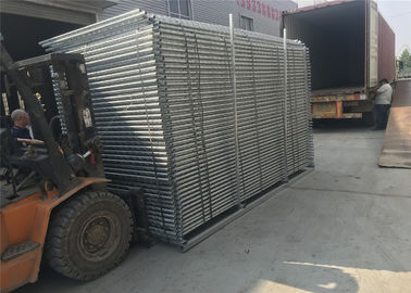 Portable Construction Fencing Panels 6'x12'  Mesh 63mmx63mm diameter 2.9mm hot dipped galvanized 42 microns at all welds