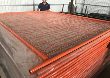 Portable Fencing Panels OD 32mm x 1.40mm Mesh 60mm x 150mm Diameter 3.00mm for Melbourne Market