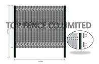 Anti Resistant Clear Vu Fence Panels / Clearvu Fencing Highly Attractive