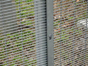358 security security fence is welded from high quality low carbon steel wire.also name welded security fence/security w