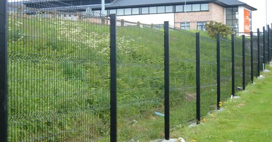 1730mm height 2030mm height 3d mesh fence panels with v for 3d fence