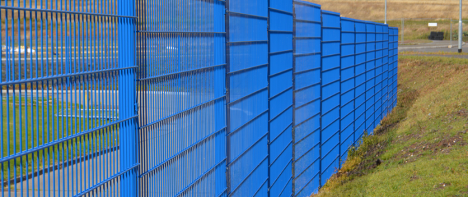 1.8m High 868 Twin Wire Mesh Fencing, Available in 1630mm, 2000mm ,2230mm,2430mm Height