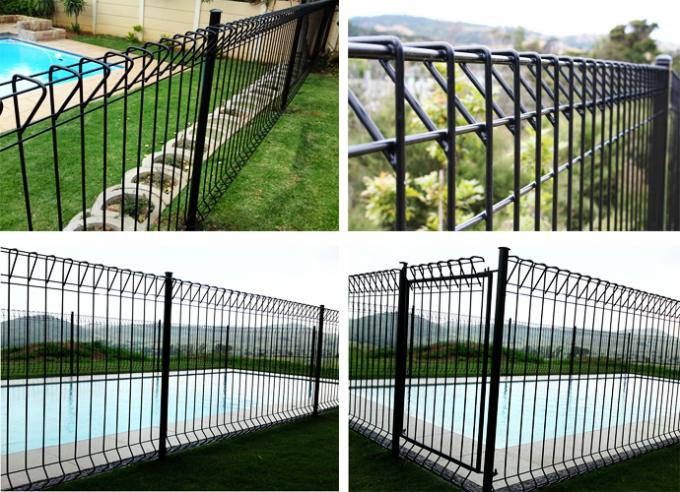 Australian standard as roll top fencing brc fence