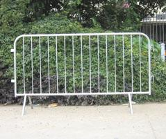 Rio Olympic games(2016) pre-galvanized Crowd Control Barriers Made In China Top Fence