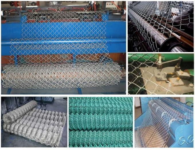 Factory price Diamond wire mesh/6ft Black Vinyl Coated Galvanized Chain Link Fence Per Sqm Weight