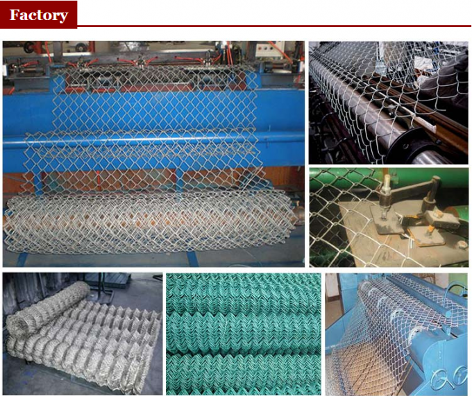 China Hot Sale Temporary Construction Chain Link Fence, Chain Link Fence Top Barbed Wire