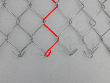 Chain Link Fence - Cork Screw No 1