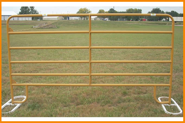 Hot dip galvanized zin Frame Finishing and Metal Frame Material cattle yard panels
