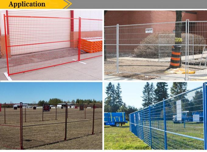 6ft*10ft  USA  Canada mobile temporary fencing panels construction Fence China Supplier