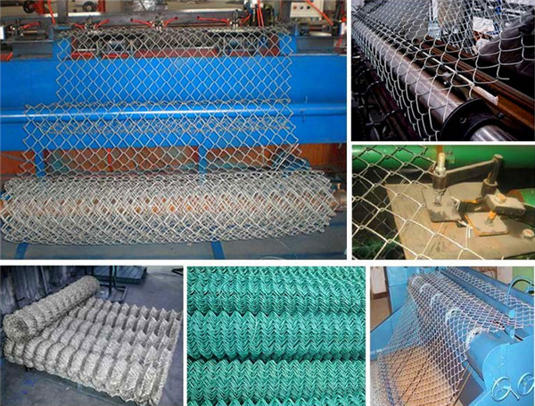 Chain Wire Fence Hurricane Mesh Cyclone Mesh Fence Roll