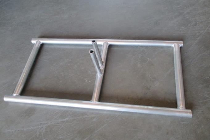 Hot dip galvanized construction 6ftx10ft portable fence