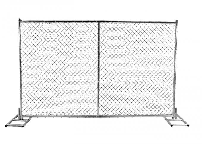 Security site fencing panels 6x12 feet /chain link temporary fencing direct factory