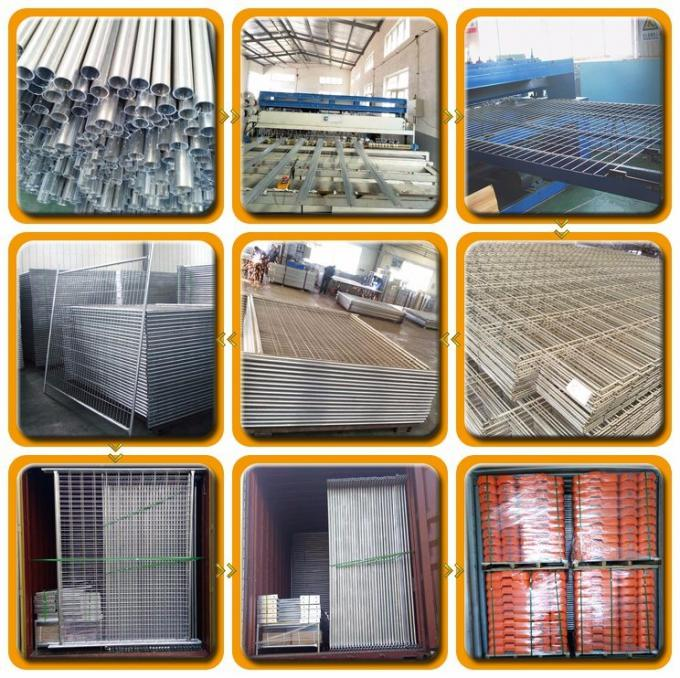 Safety Galvanized Welded Wire Mesh Temporary Fencing