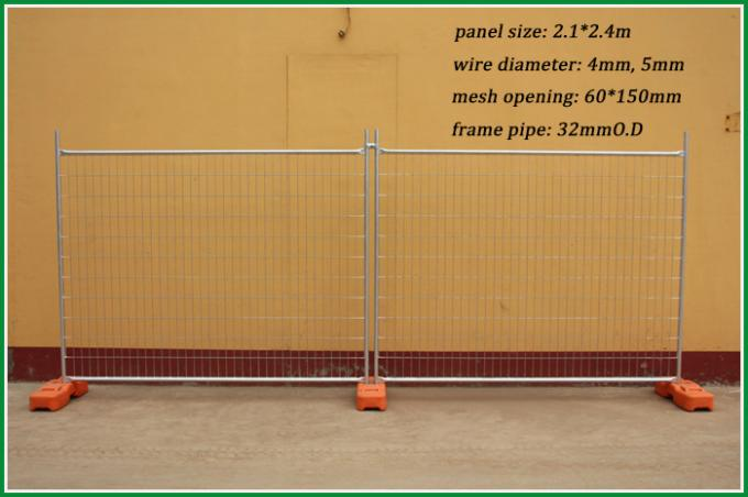 20 years factory welded construction heras temporary fencing