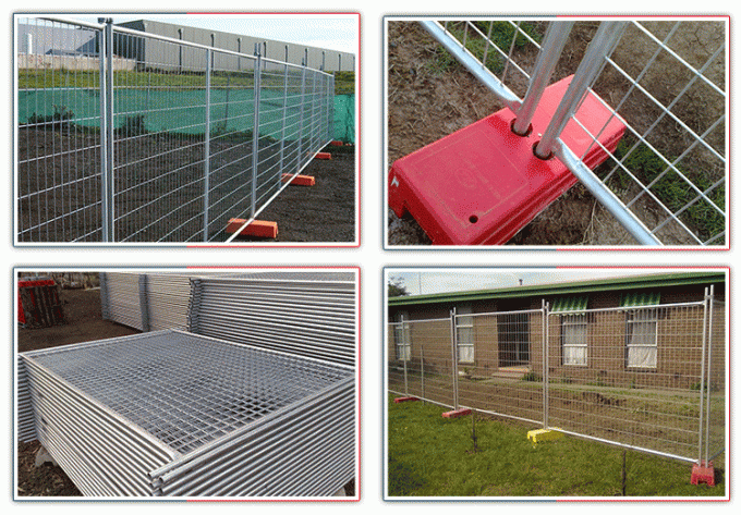 Hot dip galvanised used temporary fence  temporary fence panels hot sale  temporary fence