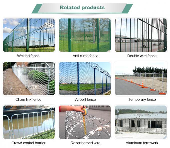 anti-climb 358 high security welded wire mesh fence