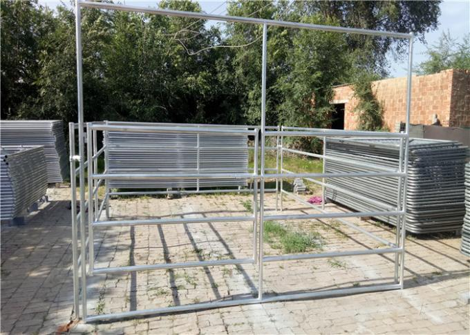 Low Carbon Steel Farm Gate Fence 2.1x1.8x1.8m With Hot Dipped Galvanized Material