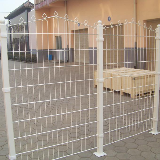 China Factory Welded Arched Double Horizontal Prestige Wire Mesh Fence For Sale