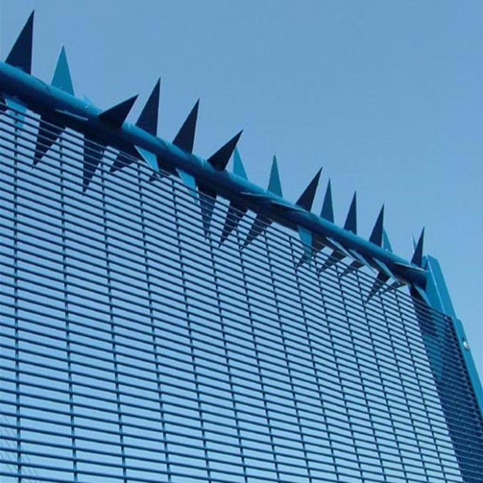 High Security System South Africa 358 Anti Climb Clearvu Mesh Fence