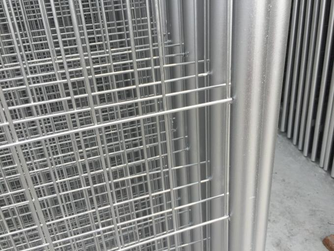 High Security Temporary Pool Fence Panels / Temporary Fence Netting 22.00kg