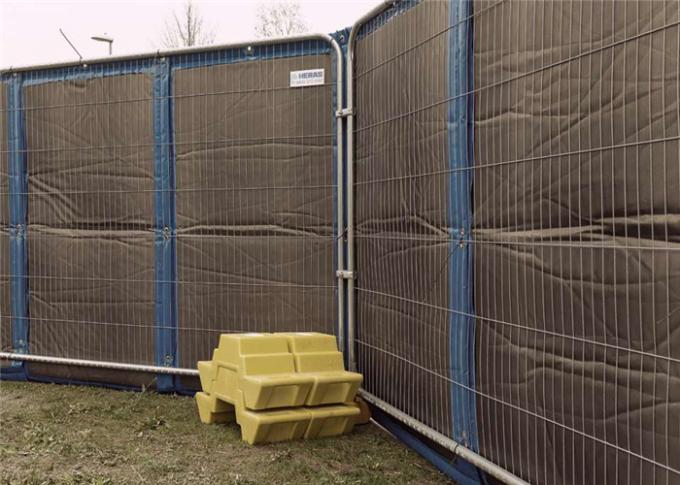 PVC Temporary Noise Barriers Soundproof Fencing