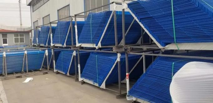 Edge Steel Mesh Barrier Protection Safety Fence