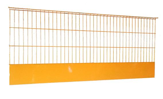 Construction Portable Powder Coated Temporary Edge Fall Protectioon Barriers in GB Market