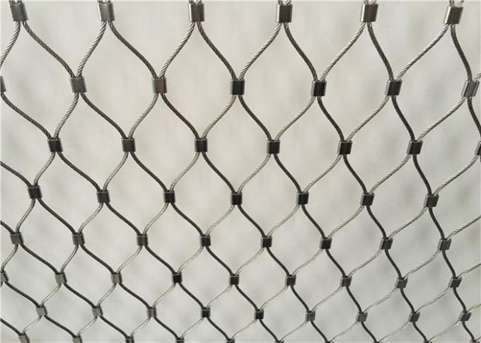 AISI 316 Grade Stainless Steel Wire Rope Mesh Anti - Falling Mesh Fence