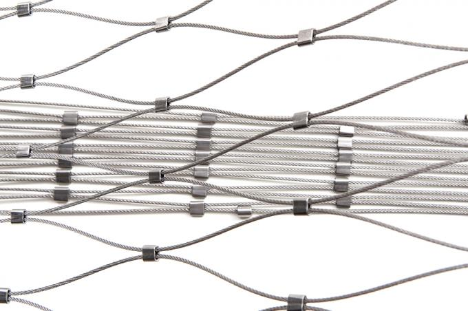 Top Quality Stainless Steel Grade Flexible Wire Rope Mesh Netting