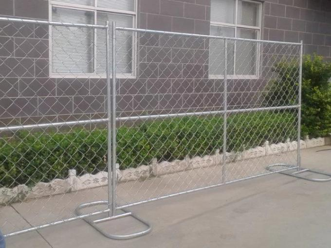 Hot sale used 6'x12' hot dipped galvanized construction chain link temporary fence panel
