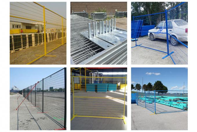 Hot sale Canada temporary fence (20 years' manufacturer&exporter)