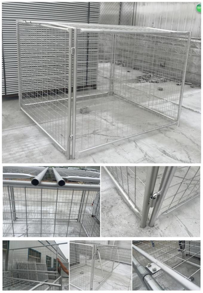Hot sale rubbish cage for australia market 1800mm x 1500mm x 1500mm made in china