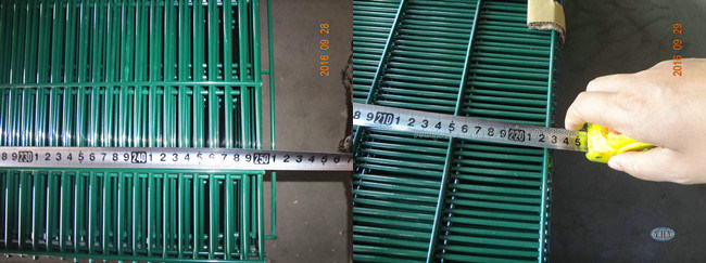 Powder Coated High Security 358 Anti-Climb Welded Wire Mesh Fence for Prison