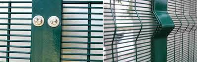358 High Security Powder Coated Galvanized Welded Wire Mesh Fence