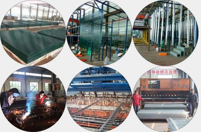 Factory Supply Powder Coated Galvanized Anti Climb 358 Security Fencing