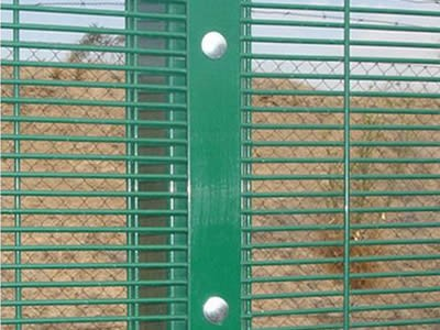 "Clearvu High Security Wire Fence Panels 3""X0.5"" 3mm/4mm wire diameter"