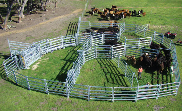 2015 hot sale used horse stalls