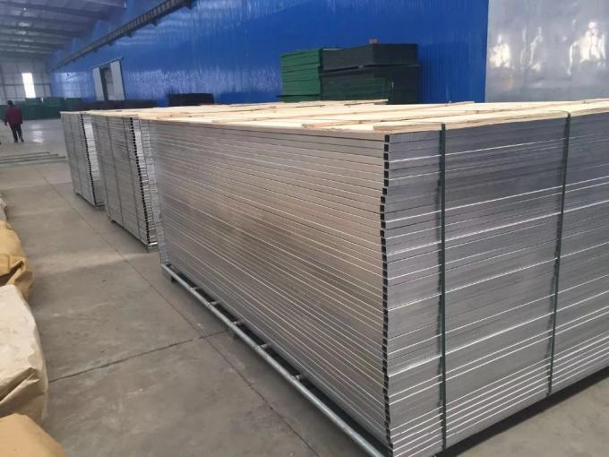 Canada Used Construction Site Temporary Galvanized Steel Fence