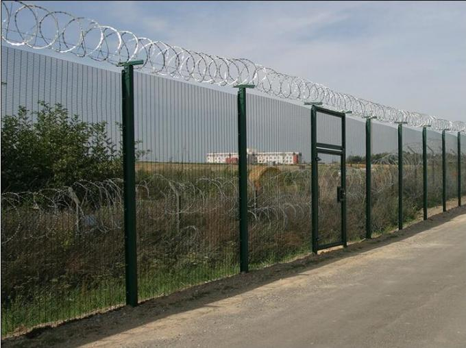 China supplier anti-climb allumen perimeter 358 Mesh fence ( High security fencing )
