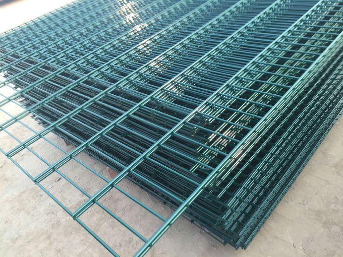 China supplier ISO9001 868 Wire Fence, 656 Wire Fence, Double Wire Fence