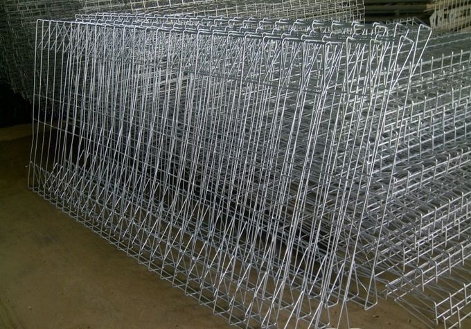 Pvc Coated Or Galvanized Brc Welded Mesh Fence Roll Top