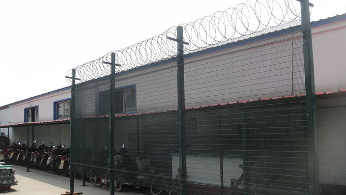 high security 358 fence system fully hot dipped galvanized ,elestrostaic polyester coated