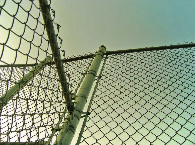 HDG chain link fence