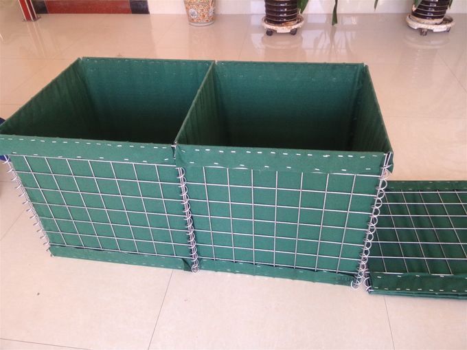 welded wire mesh gabion hesco bassion/military barrier
