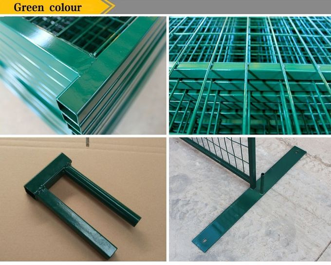Hot sale temporary metal fence panels for Canada