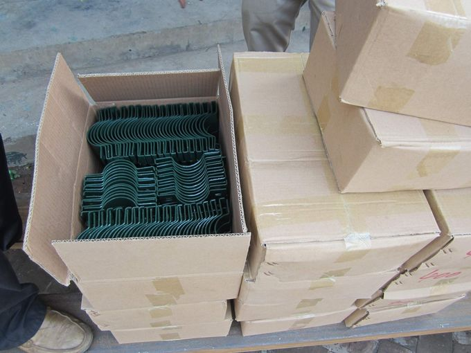 high quality Galvanized /PVC coated welded wire mesh fence panels