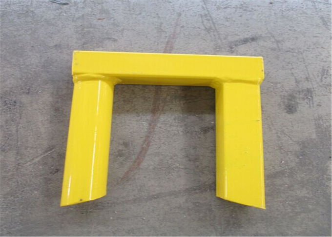"Powder coated canada temporary fence H 8'/2430mm*W10'/3048mm 2""x4""/50mm*100mm*8ga wire strore items powder coated yellow"