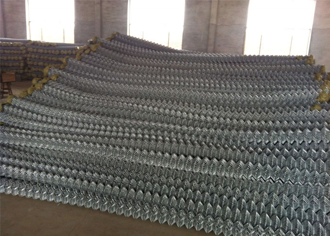 "Chain link mesh fabric 1""x1""/25.4mmx25.4mm diameter 9GA/3.66mm 11GA/2.95mm High security for residnetial and Commerical"